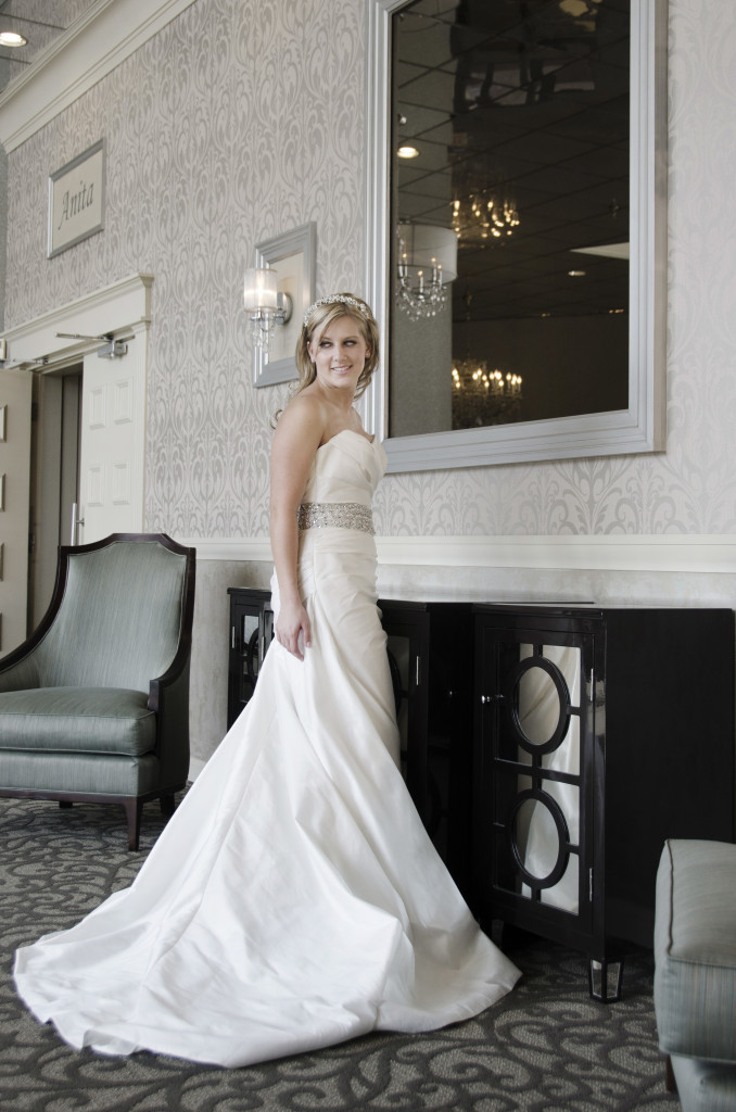 Beautiful Bride In the Foyer